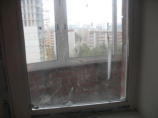 Как заделать трещину на оконном стекле