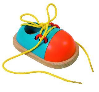 Если у Вас развязываются шнурки.