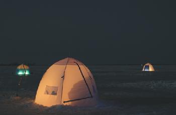 Палатка для зимней рыбалки.