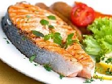 Жареная рыба.