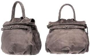 Замшевые сумки.