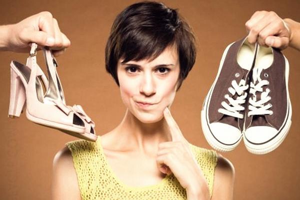 Обувь на высоком каблуке или плоская подошва?