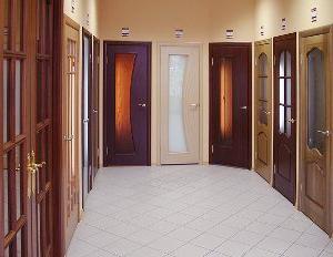 Двери в магазине.