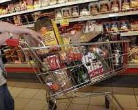 Покупаем продукты к Новому Году