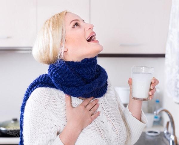 Полоскаем больное горло