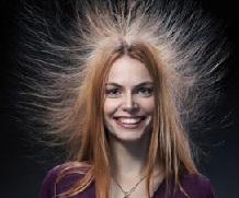 Наэлектризованная причёска