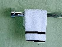 Отбеливаем кухонное полотенце.