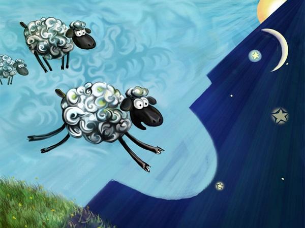 Посчитайте овечек, чтобы уснуть быстро