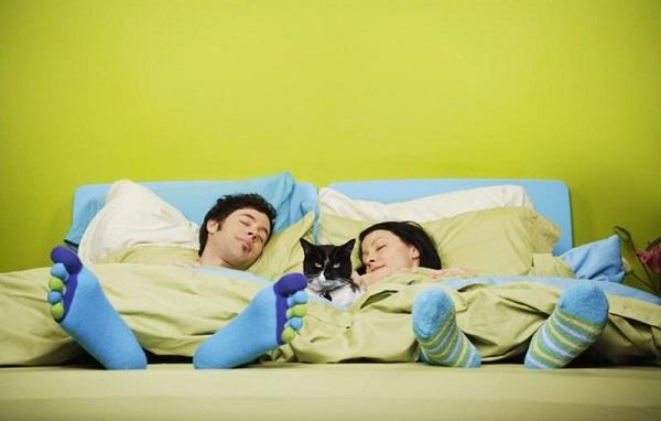 Заснуть получится быстро, если Вам удобно!