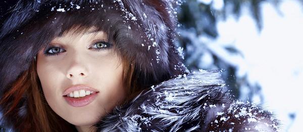 Защищайте кожу лица зимой!