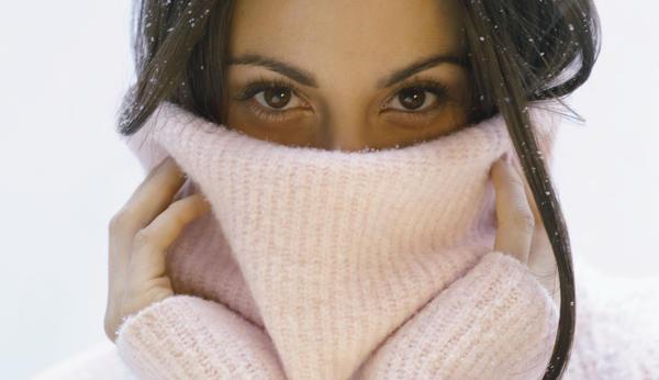 Здоровая кожа лица зимой