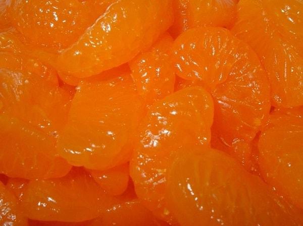 Варим мандарины дольками