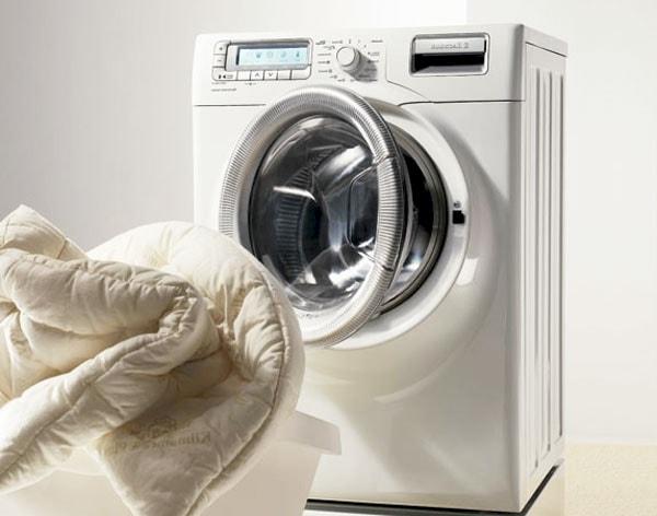 Стираем одеяло в стиральной машине