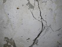 Как заделать трещину в стене дома?