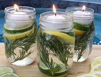 Как сделать свечи от комаров своими руками?