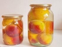 Консервированные персики. Рецепт в сиропе на зиму