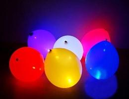 Светящиеся воздушные шары с подсветкой со светодиодами. Как сделать своими руками?