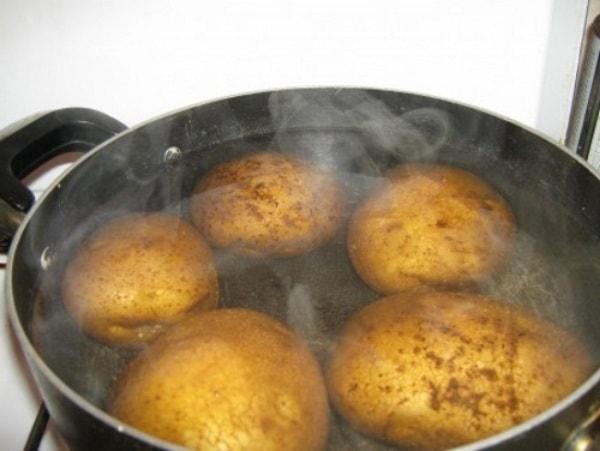 Варёный картофель для ингаляций