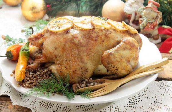 Курица запечёная в духовке