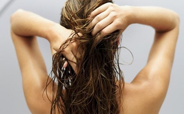 Волосы после мытья головы