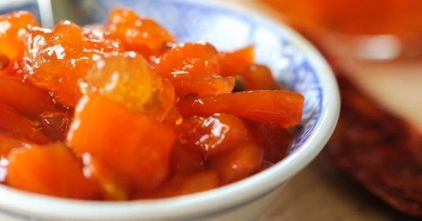 Готовое морковное варенье