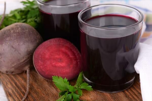 Сок свеклы для лечения аденоидов