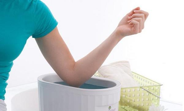 Солевая ванна для локтевого сустава