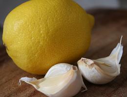 Чистка сосудов лимоном и чесноком