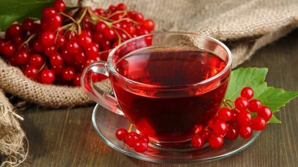 Чай из ягод калины
