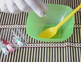 Приготовление маски для волос с витаминами