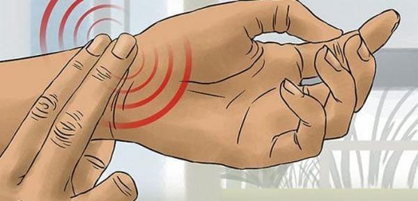 Измерение пульса при тахикардии