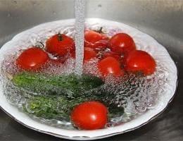 Как мыть овощи из магазина?