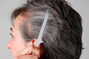 3 простых домашних способа остановить поседение волос