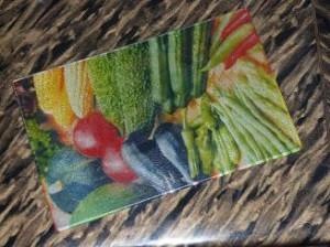 Разделочная доска из стеклокерамики.