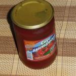 Пятно от кетчупа