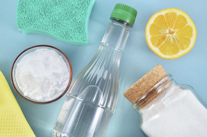 Уксус и лимонная кислота для чистки серебра
