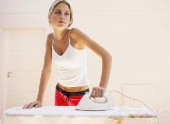 Как правильно гладить белье?