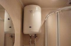Электрический водонагреватель.