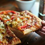 Низкокалорийная пицца. Рецепт