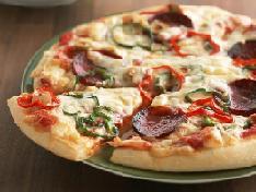 Готовим низкокалорийнкю пиццу.