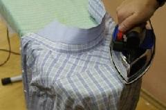 Гладим мужскую рубашку