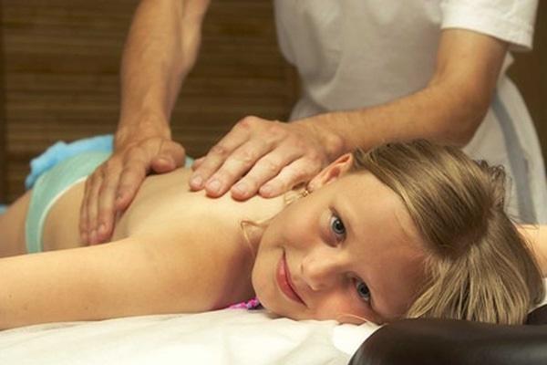 Лечебный массаж при кашле