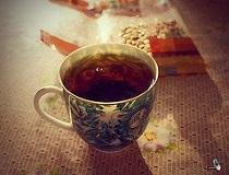 Выводим пятна от чая