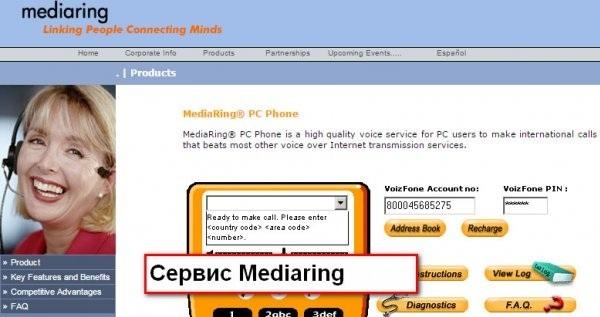 Сервис Mediaring