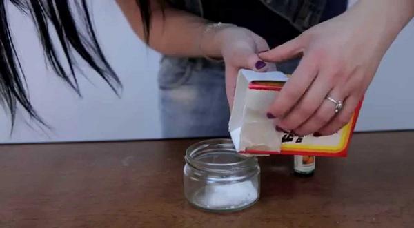 Очень простой ароматизатор из соды