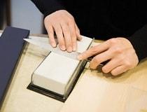 Как правильно точить ножи бруском в домашних условиях?