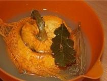 Как засолить огурцы в тыкве на зиму. Рецепт