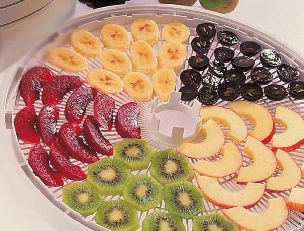 Сушим фрукты в сушилке