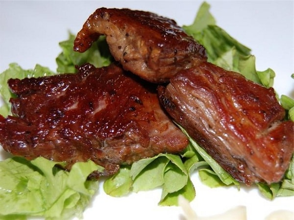 Жарим сочное мясо