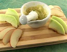 Яблочный скраб для рук